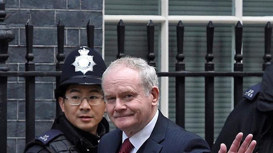 Martin McGuinness dejará el Gobierno norirlandés en protesta por un caso de corrupción