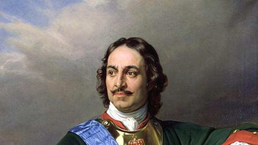 Pedro el Grande (Paul Delaroche, 1838)