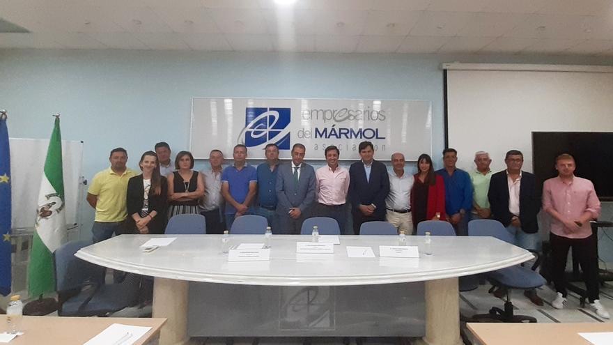 Jesús Posadas, nuevo presidente de la Asociación de Empresarios del Mármol de Andalucía