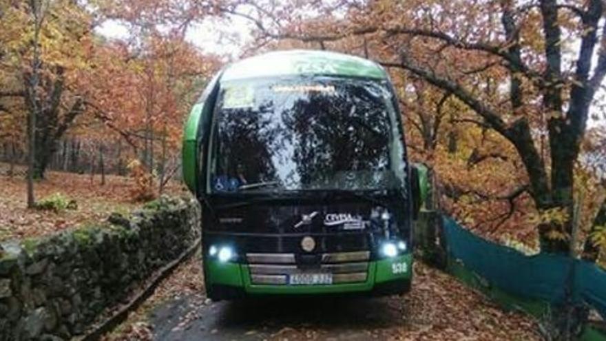 Autobús de Sunsundegui