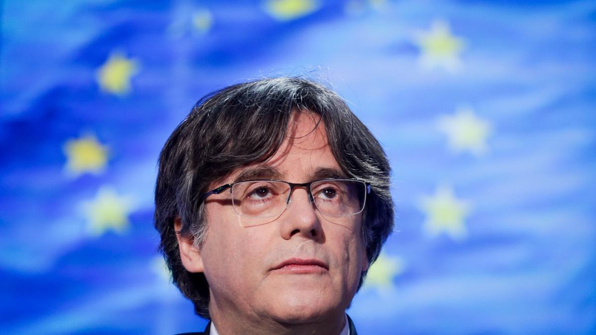 El expresidente catalán Carles Puigdemont. EFE/STEPHANIE LECOCQ/Archivo