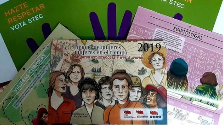 Calendario feminista de 2019.