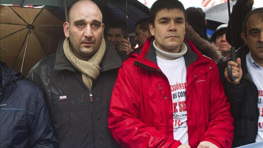 Miles de personas se manifiestan en Vigo por el indulto a dos sindicalistas