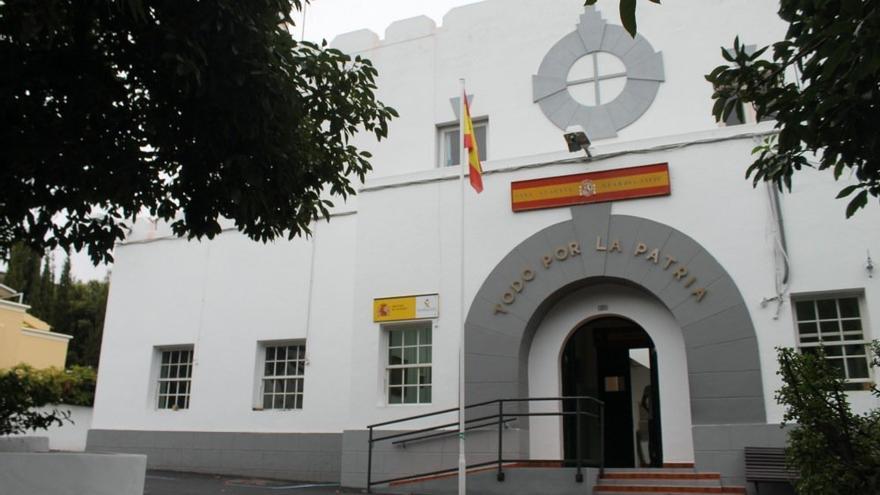 Cuartel de la Guardia Civil de Los Llanos de Aridane.
