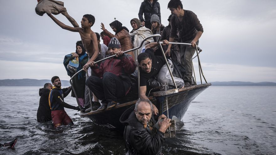 World Press Photo: © Sergey Ponomarev - Reporting Europe's Refugee Crisis
