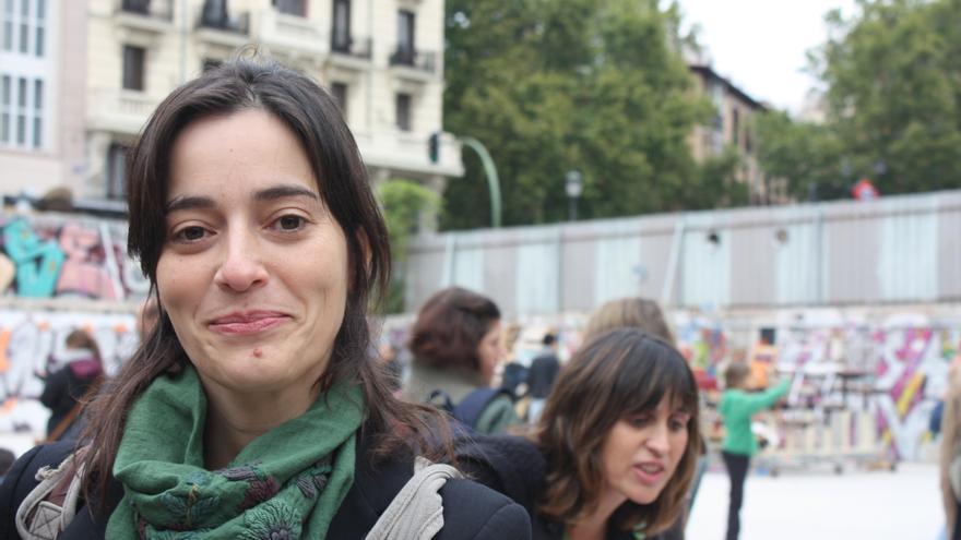 Rita López, madre en huelga por una educación pública de calidad