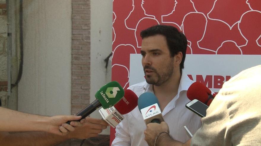 """Izquierda Unida muestra su """"absoluto respeto"""" al posible acuerdo entre PSOE y Podemos en Castilla-La Mancha"""