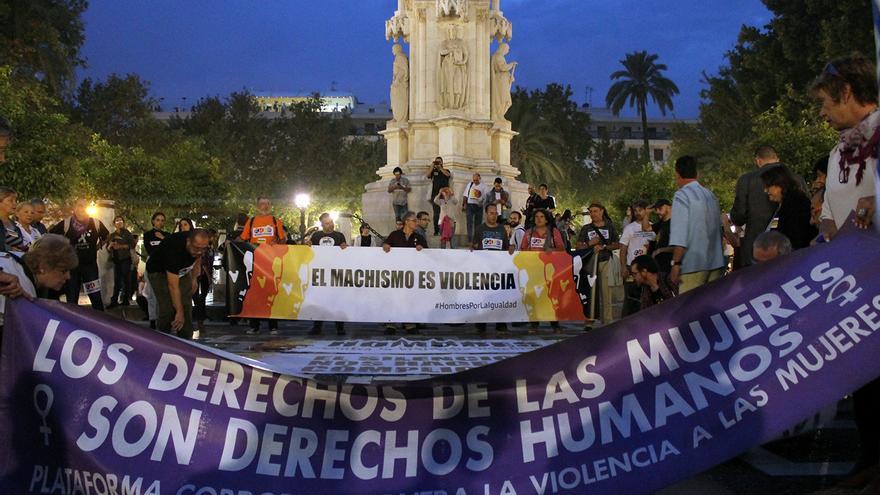 Manifestación 'El machismo es violencia'. | JUAN MIGUEL BAQUERO