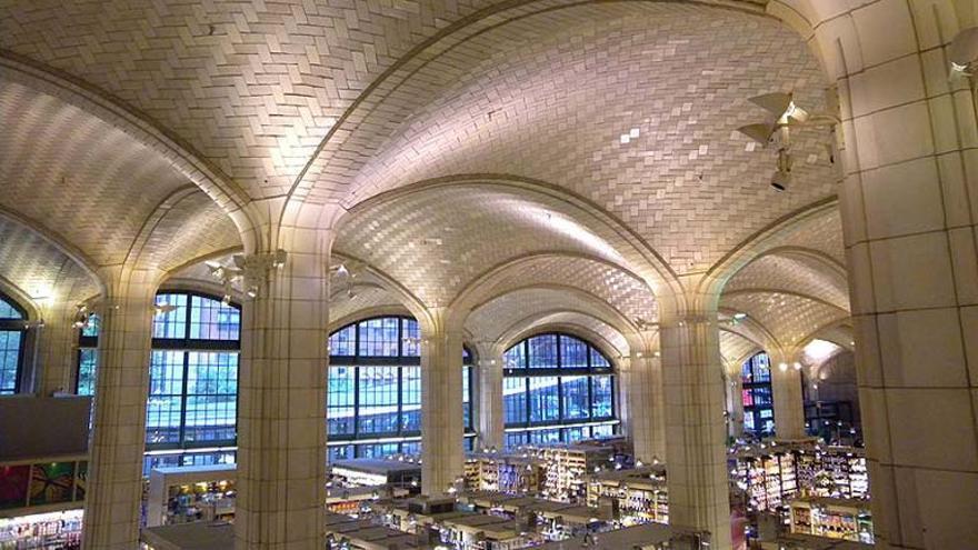 Una de las cúpulas que diseñó el arquitecto valenciano