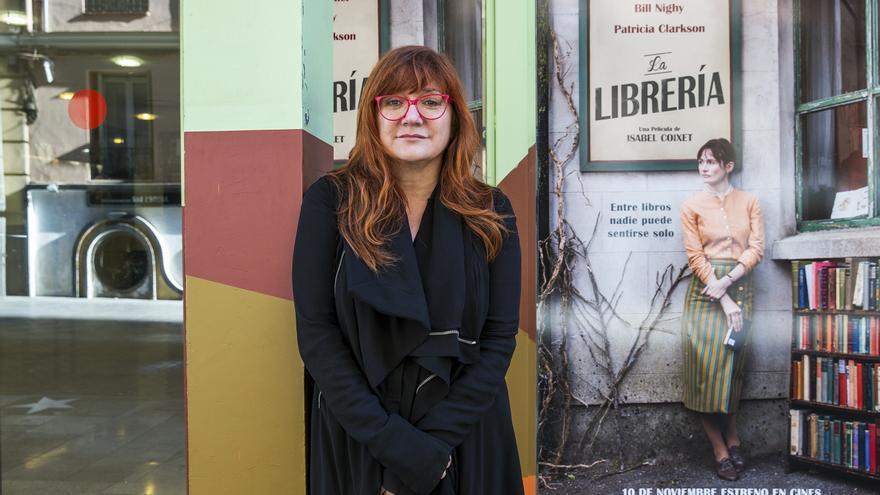Isabel Coixet, en una imagen de promoción de su reciente filme 'La librería'