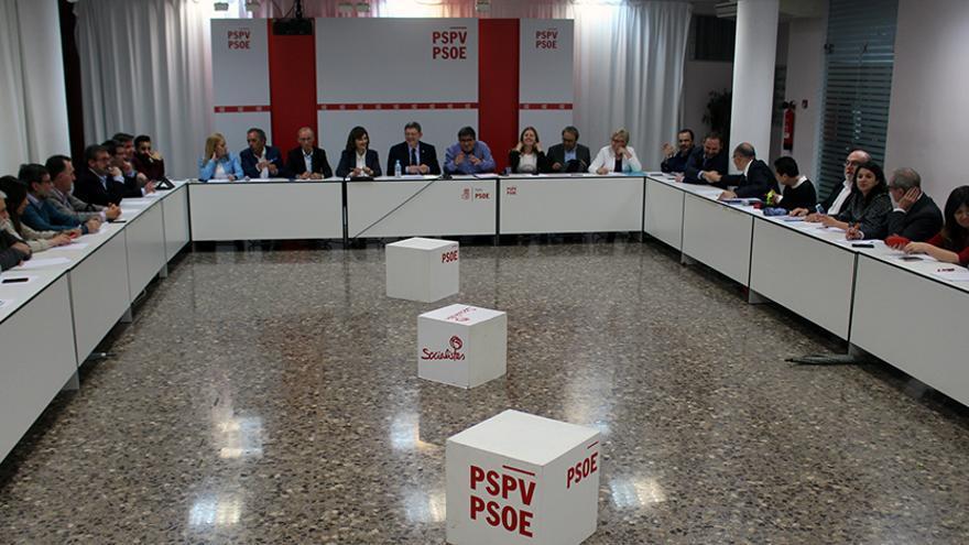 Ximo Puig preside la ejecutiva nacional del PSPV
