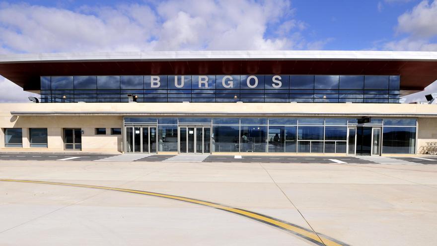 Imagen del aeropuerto de Burgos. FOTO: Javier Ortega