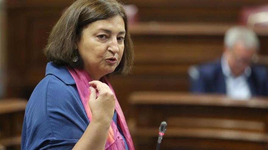 La consejera de Educación del Gobierno de Canarias, María José Guerra.