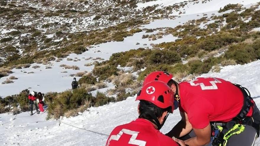 Herida grave una joven tras ser atropellada en pleno colapso para visitar el Teide
