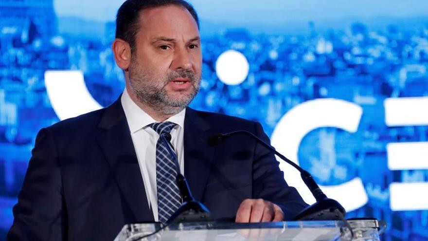 El ministro de Fomento en funciones, José Luis Ábalos
