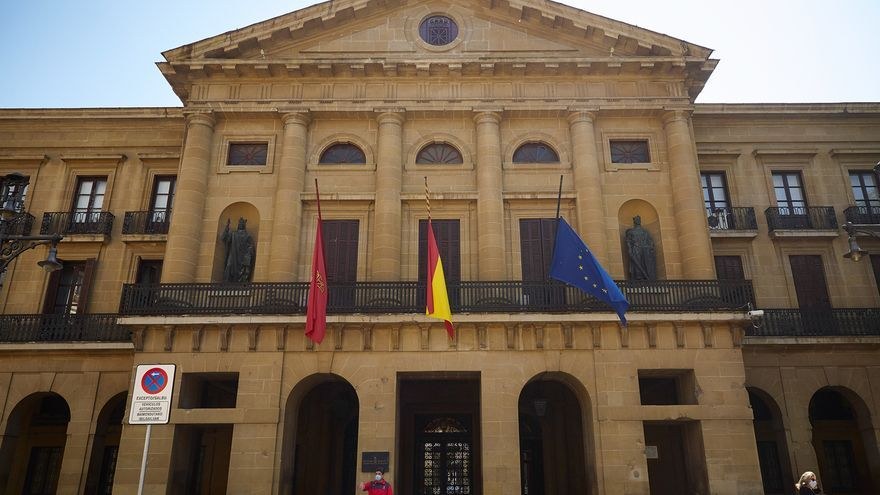 Las dependencias del Gobierno de Navarra en Pamplona permanecerán cerradas la semana próxima, de martes a viernes