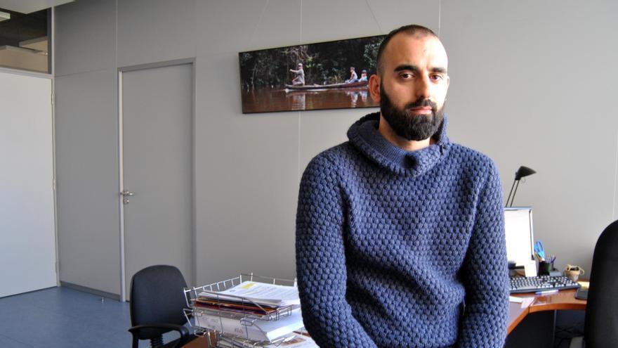José Ángel Calle, en su despacho en Mérida / JCD