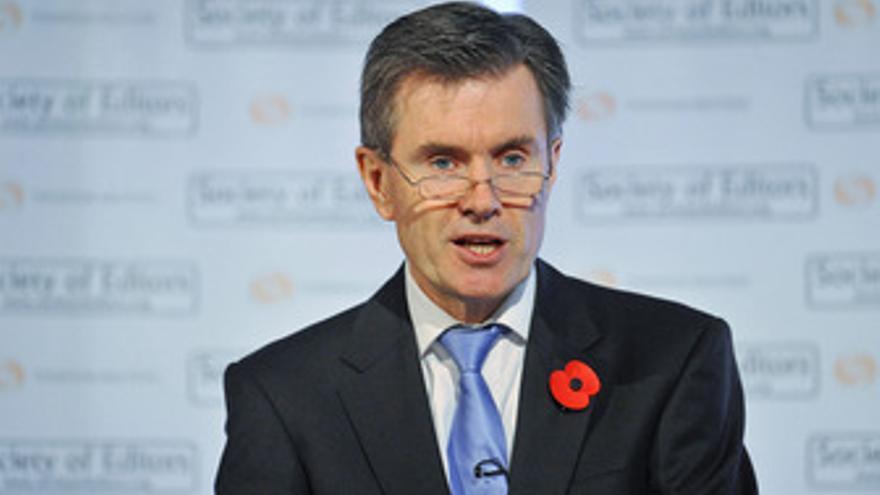 El jefe del Servicio Secreto de Inteligencia británico (MI6), John Sawers