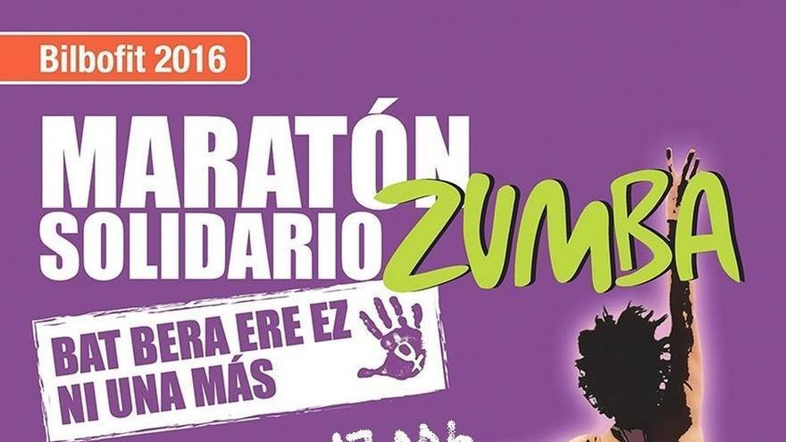 Bilbao celebra el sábado un maratón solidario de zumba contra la violencia machista