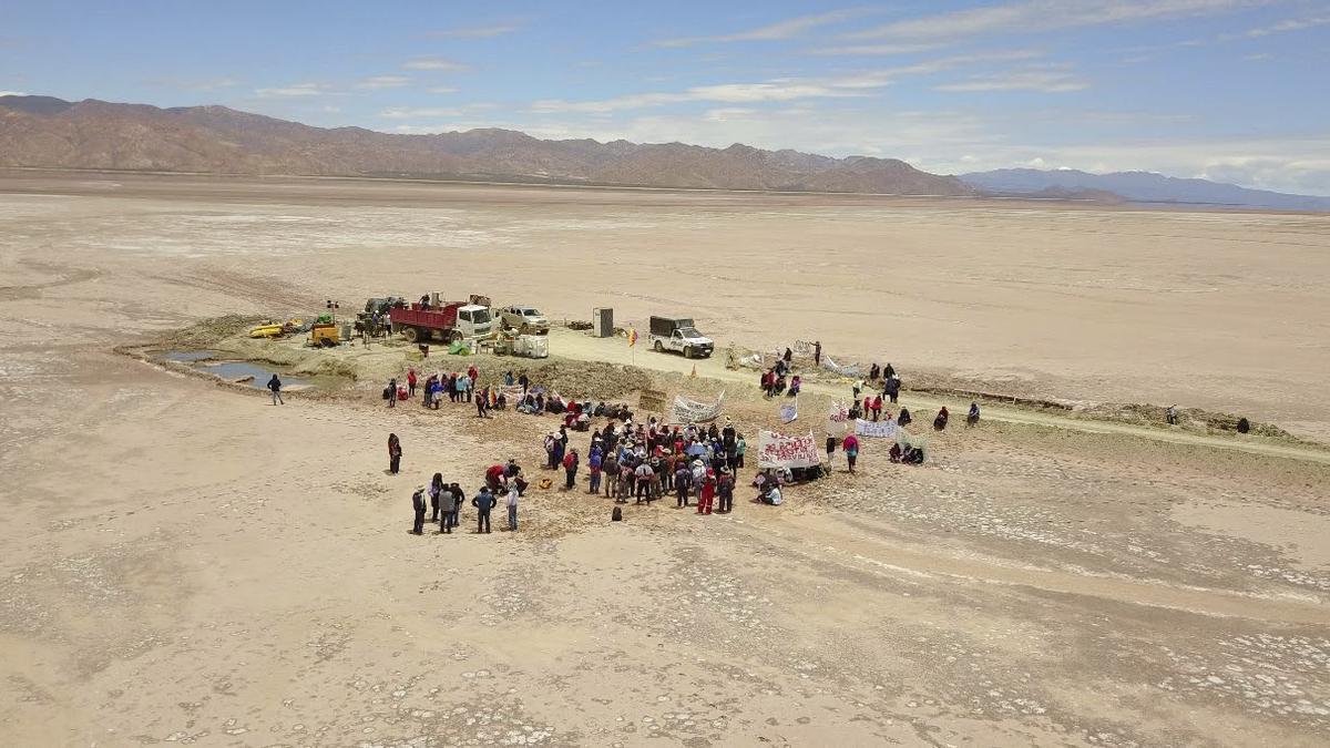 """""""En el nombre del litio"""", un documental sobre la defensa del territorio"""