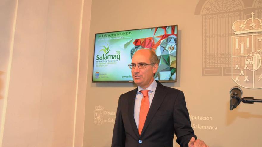 Javier Iglesias, presidente de la Diputación de Salamanca y senador por esta provincia.