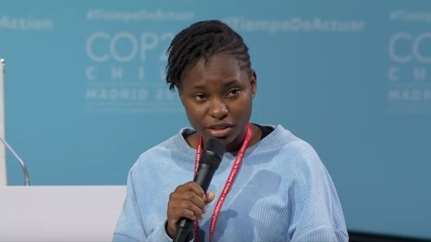 Hilda Flavia Nakabuye, de Fridays For Future Uganda.