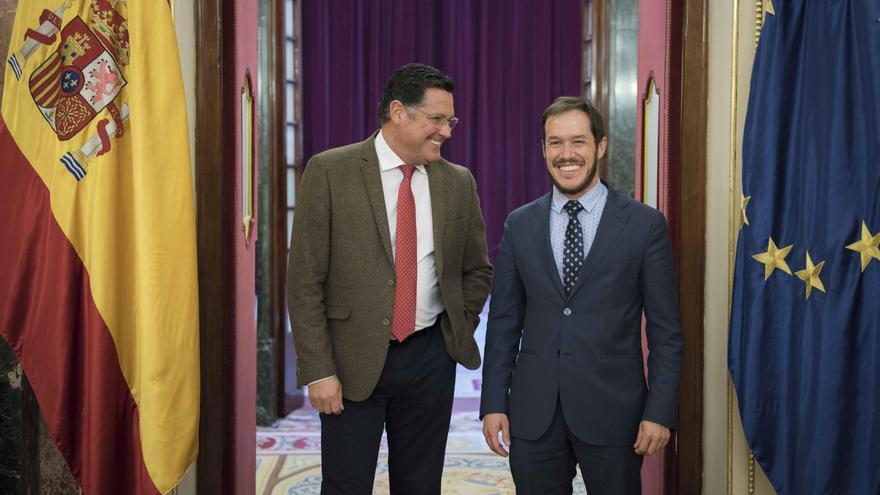 Ernesto Aguiar y Mariano Hernández.