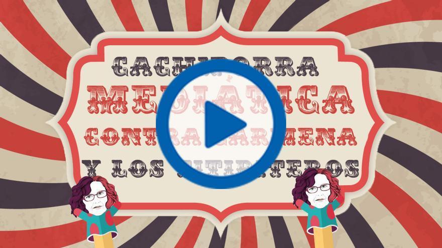 Cachiporra mediática contra Carmena y los titiriteros