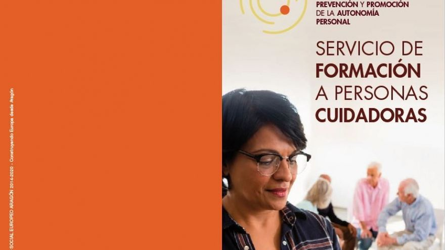 Cartel del servicio impulsado por el Instituto Aragonés de Servicios Sociales