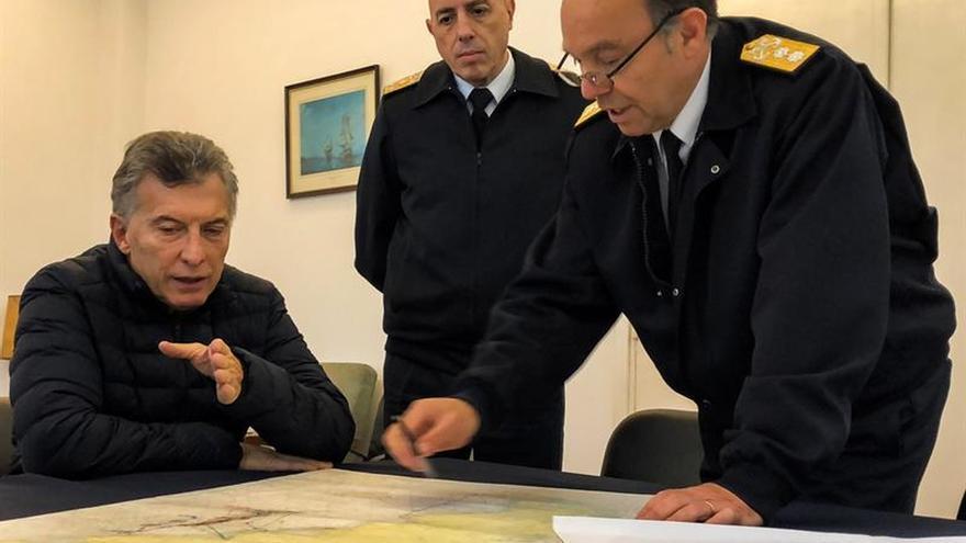 El submarino desaparecido en Argentina se averió antes de perder contacto