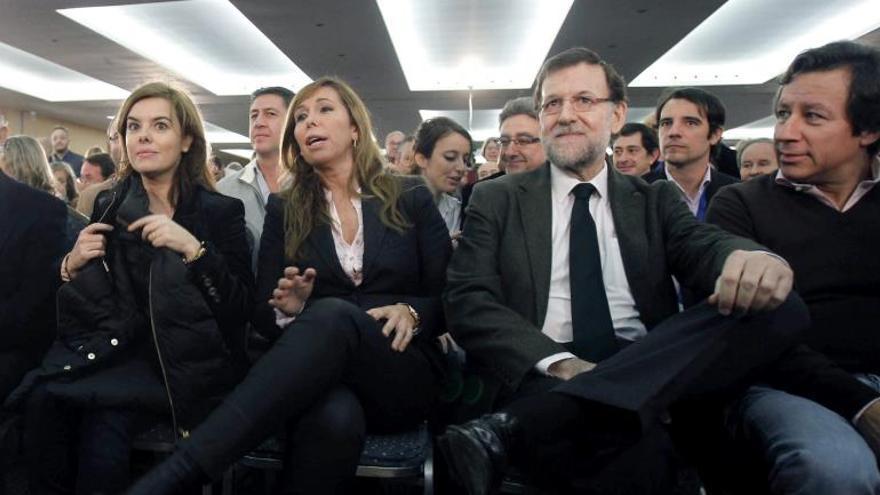 Camacho cree que el PP es el único partido que sacará a Cataluña de la crisis y el conflicto
