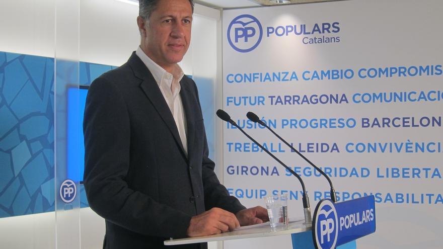 El PP catalán envía dos cartas a autoridades europeas condenando la quema de banderas