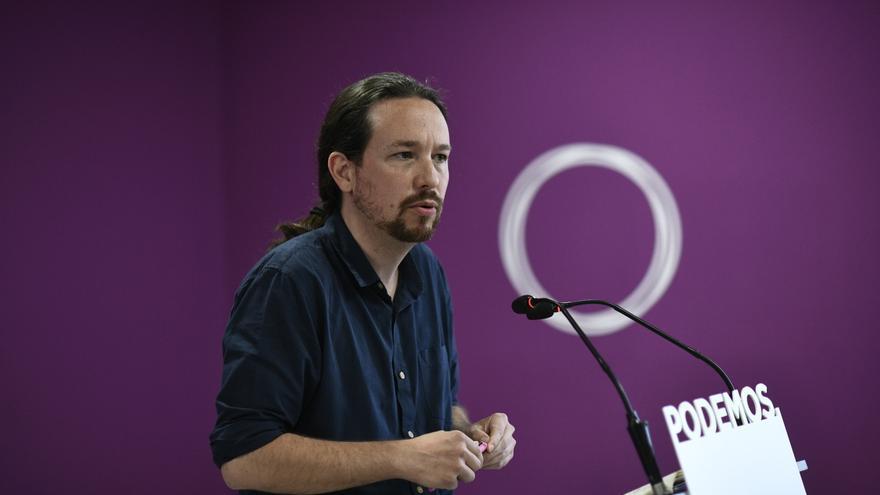 """Iglesias señala que la """"mala implantación territorial"""" de Podemos es la responsable de la pérdida de apoyos"""