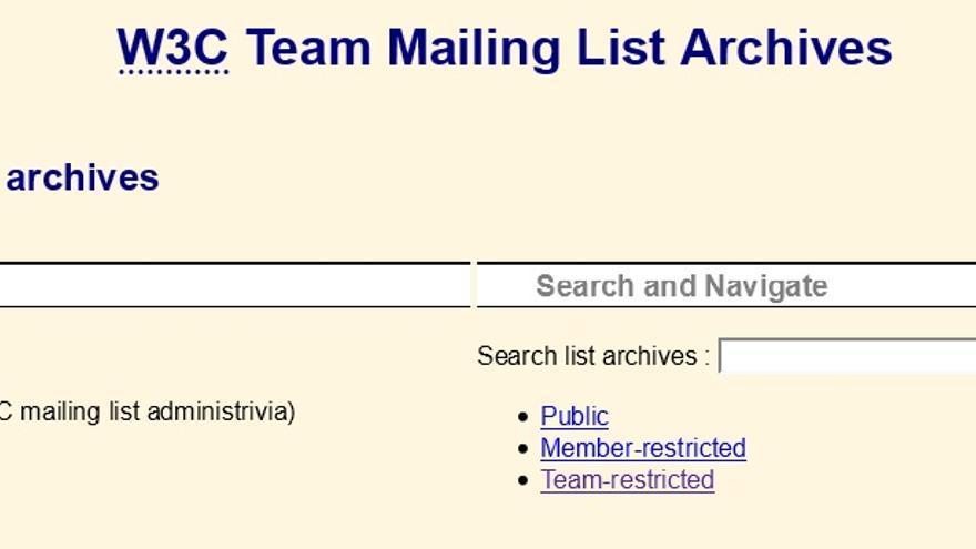 El intruso accedió a las listas de correo del consorcio internacional
