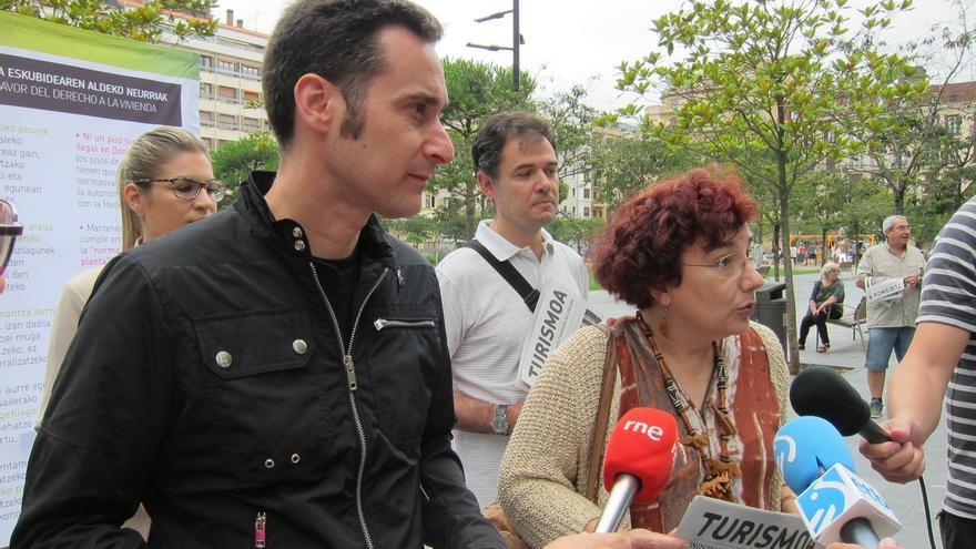 """EH Bildu llama a aplicar su """"hoja de ruta"""" para erradicar la oferta de pisos turísticos clandestinos"""