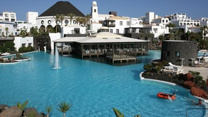Gran Hotel Volcán Lanzarote. Imagen promocional de su página web.