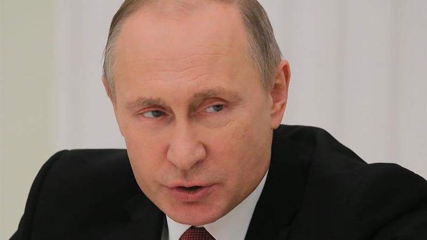 """Putin denuncia el carácter """"agresivo"""" de la nueva estrategia de seguridad de EEUU"""