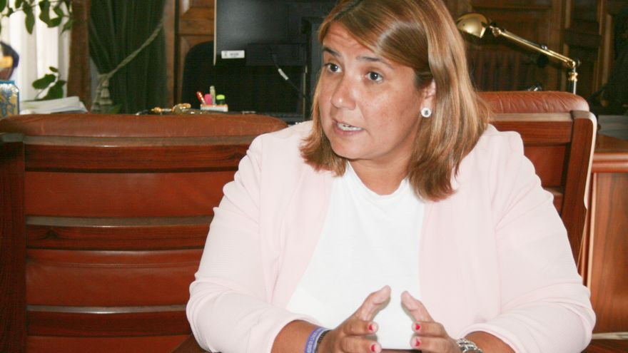 La alcaldesa de Talavera de la Reina, Agustina García Élez