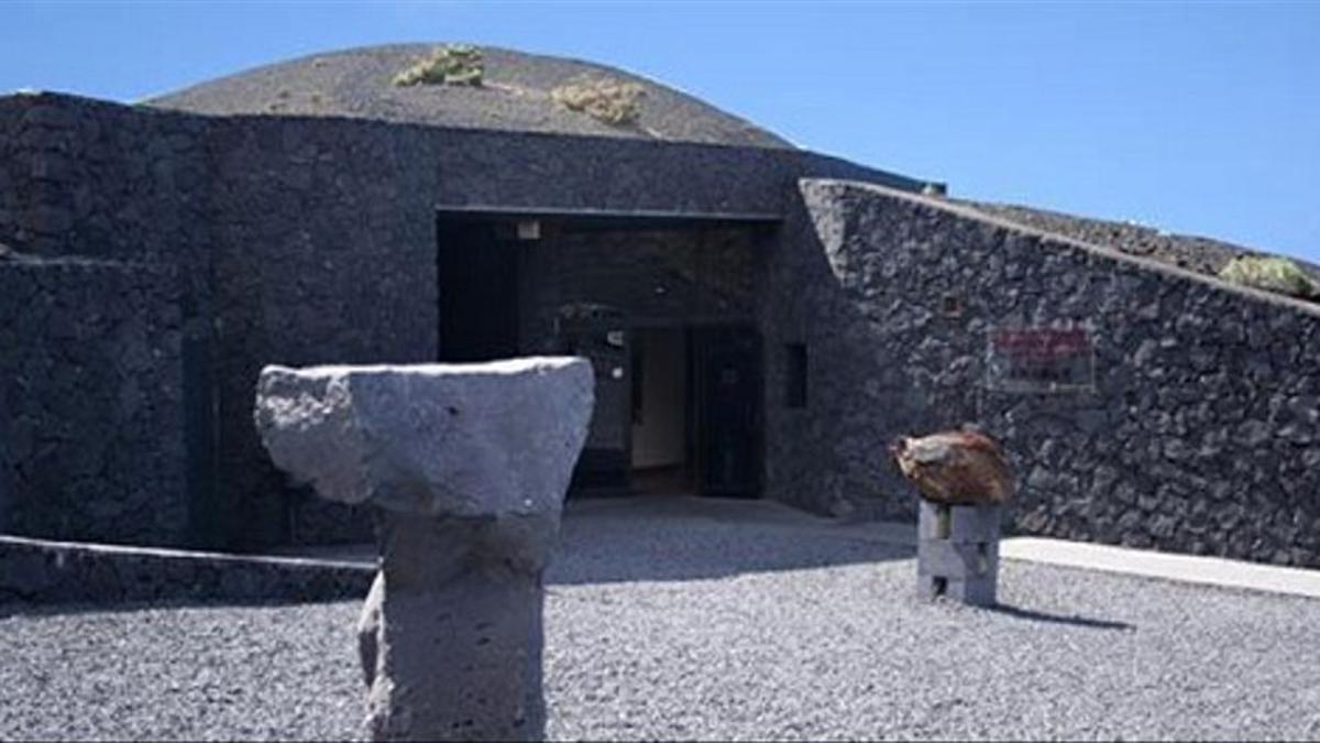 Imagen de archivo del Centro de Visitantes del Volcán de San Antonio, en Fuencaliente.
