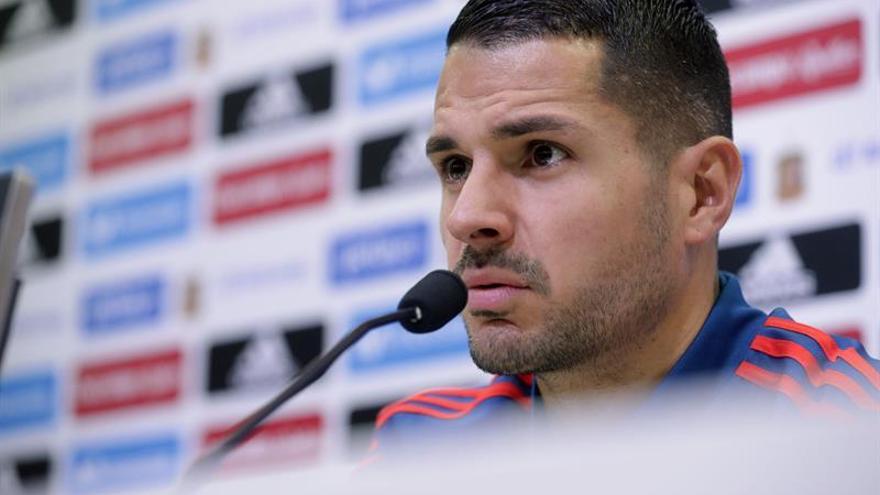 El centrocampista de la selección española de fútbol Vitolo . EFE/Zipi