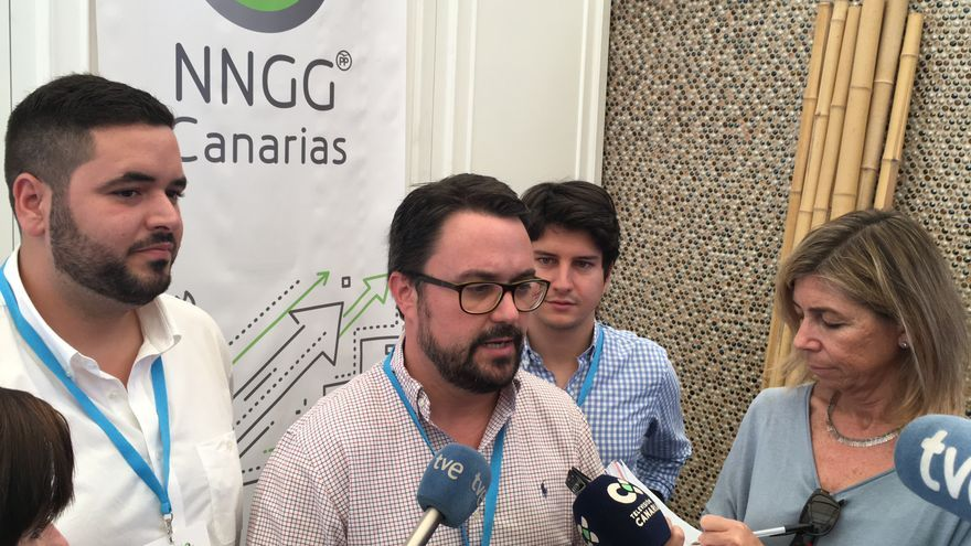 El presidente del PP en Canarias, Asier Antona.