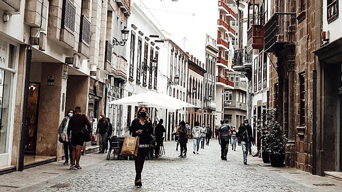 Calle Real de Santa Cruz de La Palma.