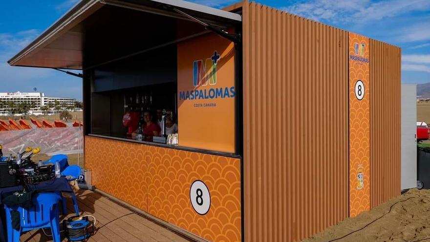 Nuevos quioscos para las playas de Maspalomas y del Inglés