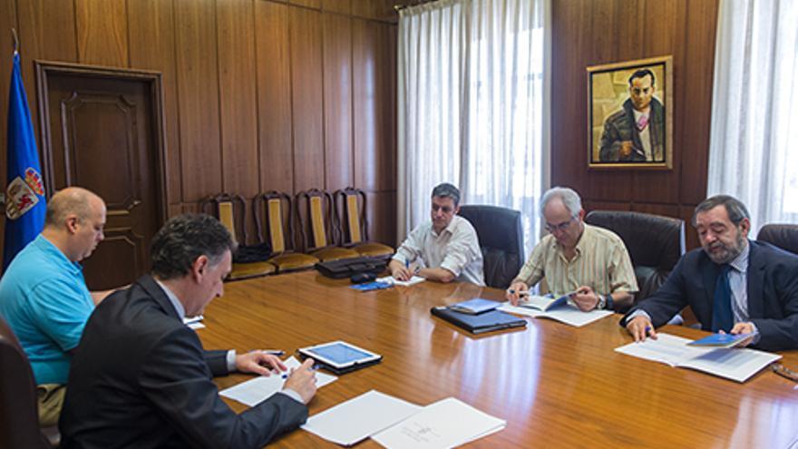 Reunión del comité de ética de la Diputación de Ourense