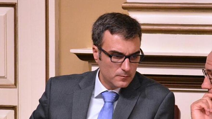 Zacarías Gómez, diputado por La Palma del grupo Popular en el Parlamento de Canarias.