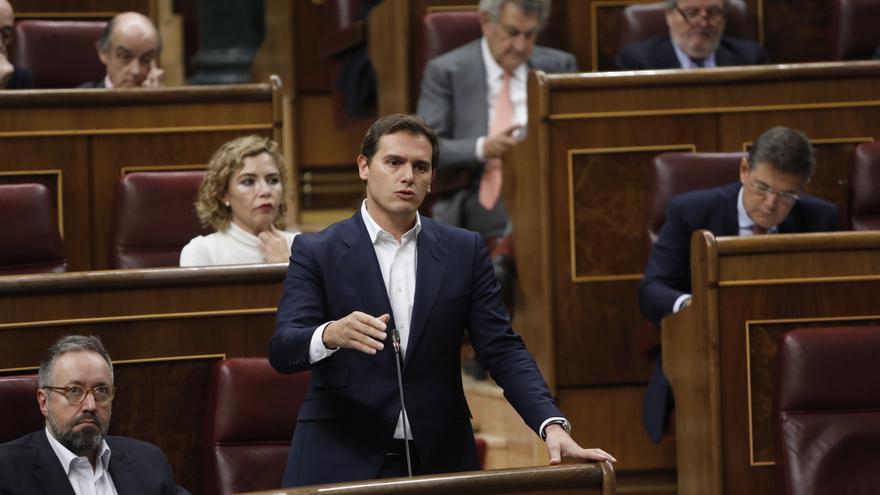 Cs forzará este mes una votación en el Pleno del Congreso contra los indultos a los presos del 'procés'