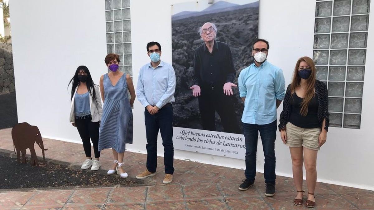 Ayuntamiento de Tías y Cabildo de Lanzarote coordinan la programación en la isla por el centenario de Saramago.