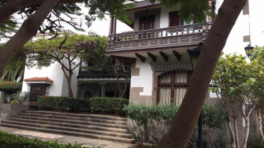 Residencia oficial del presidente del Gobierno de Canarias en Las Palmas de Gran Canaria.