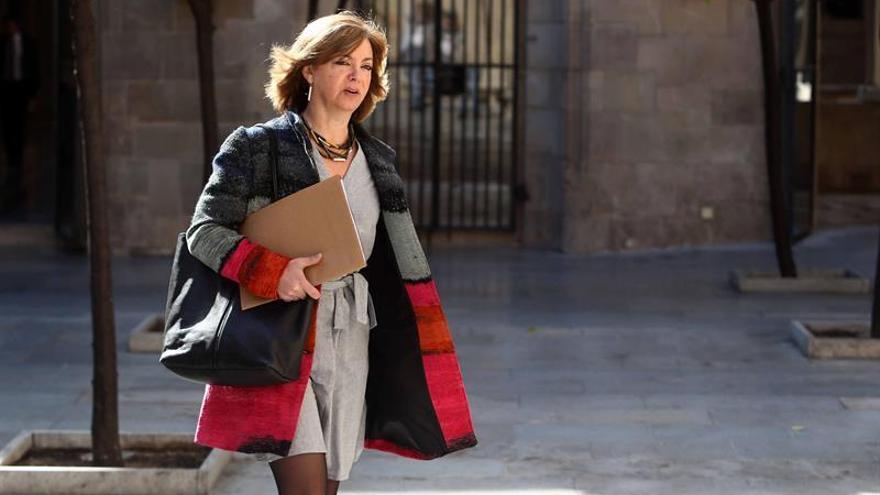 """Borràs acusa al Gobierno de aplicar un """"estado de excepción"""" en Cataluña"""