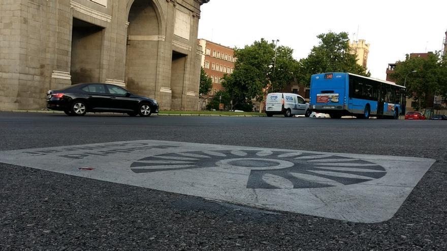 Una de las entradas a Madrid Central, en Puerta de Toledo | SOMOS CHAMBERÍ